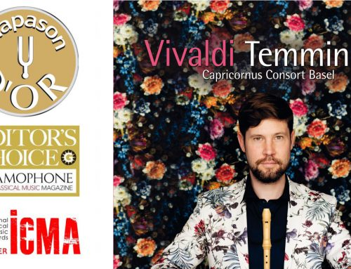 Stefan Temmingh – Auszeichnung mit Int. Classical Music Award 2018